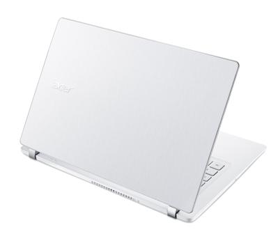 Acer V3 beyaz notebook tasarım ve performansı bir arada