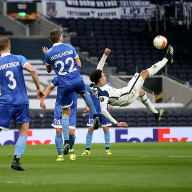 Tottenham: 4 – Wolfsberger: 0 MAÇ SONUCU